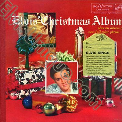 Elvis Presley Elvis Christmas Album Near Mint LP With Gold Sticker ...