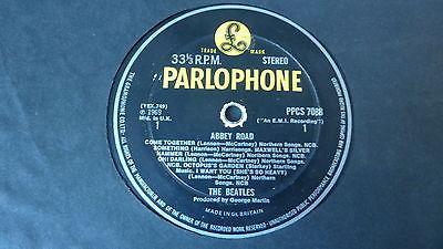 The Beatles   Abbey Road 1969 UK LP MEGA RARE PARLOPHONE EXPORT