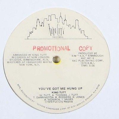 King Tutt  You ve Got Me Hung Up  Rare Modern Soul Disco 12  Fun City Orig  mp3
