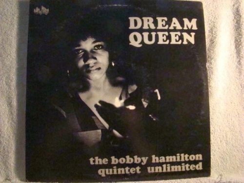 LP  BOBBY HAMITLON QUINTET DREAM QUEEN NM  PRIVATE JAZZ SOUL  FUNK  SPRITURAL