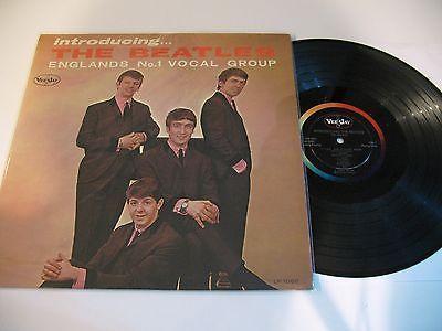 Beatles LP  INTRODUCING THE BEATLES  Version 1 MONO Vee Jay BEAUTIFUL