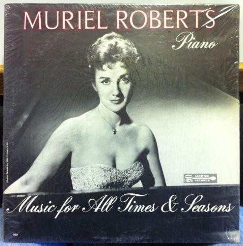 MURIEL ROBERTS at the piano LP Mint  SRM 530 Mono USA 1965 Record RARE