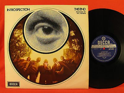 The END  Introspection  1969 UK Mod POP PSYCH Flowerpower LP Decca Tucky Buzzard