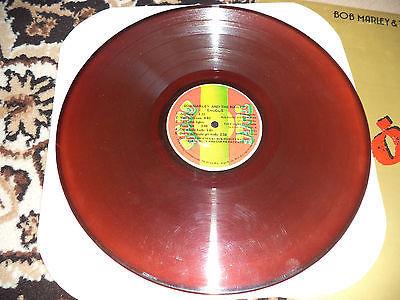 BOB MARLEY   THE WAILERS EXODUS RED ORANGE VINYL LP RECORD ULTRA RARE JAMAICA