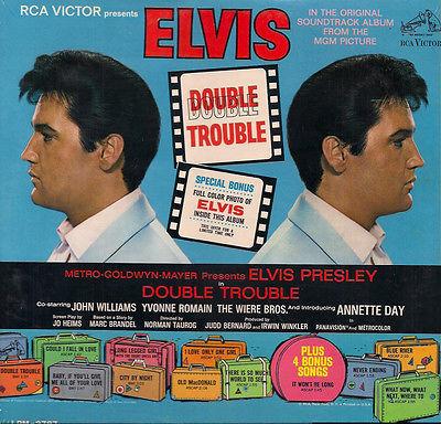 ELVIS PRESLEY NEW SEALED MONO PROMO Double Trouble 67 US RCA LP HYPE BLURB PHOTO