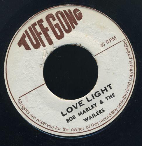1652 BOB MARLEY LOVE LIGHT  SEND ME THAT LOVE TUFF GONG NR MINT RARE  REGGAE 7