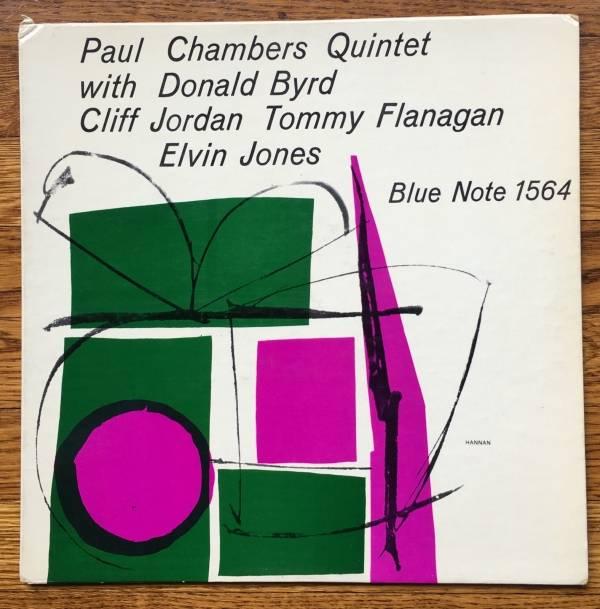 PAUL CHAMBERS QUINTET Original BLUE NOTE LP 1564 DG Ear P NM