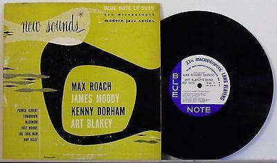 Max Roach   Kenny Dorham   Art Blakey Blue Note 5010 Original 10  LP