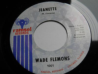 WADE FLEMONS JEANETTE USA ORIG N MINT RAMSEL Vinyl 7  60s Northern Soul  68 HEAR