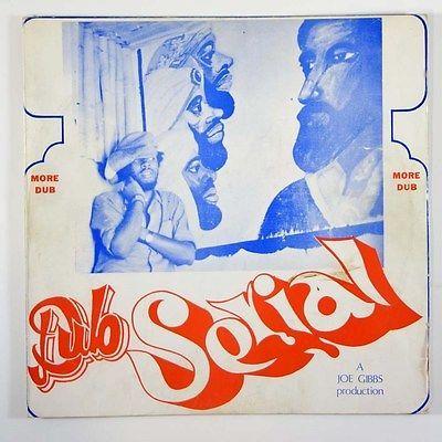 Joe Gibbs  Dub Serial  Rare Reggae LP Joe Gibbs