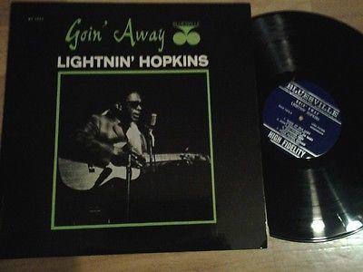 LIGHTNIN  HOPKINS Goin away BLUESVILLE BVLP 1073 LP US  orig  NM BLUES