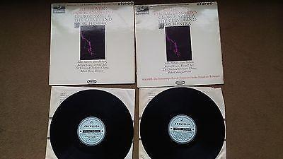 Beethoven   Choral Symphony 2LP Vinyl   Szell   Columbia Blue Black