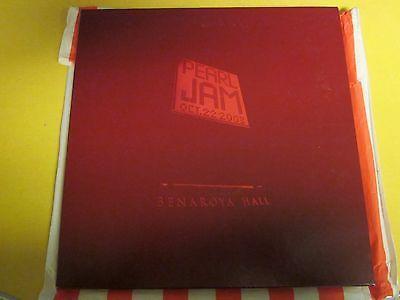Pearl Jam Benaroya Hall LP Box Set   Maroon Vinyl   4 Records   Used   Excellent