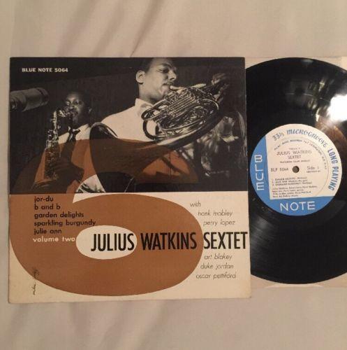 JULIUS WATKINS   BLUE NOTE 5064 10  LP MONO DG EAR RVG LEX Hank Mobley Orig   55