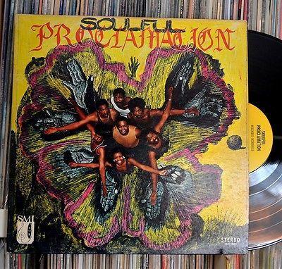 Messengers Incorporated  Soulful Proclamation RARE Original Funk Soul LP