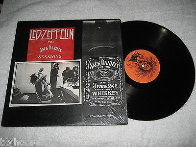 LED ZEPPELIN   Jack Daniels Sessions   Rare Original Live LP NM