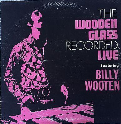 BILLY WOOTEN The Wooden Glass Recorded Live LP Interim 2546 VG  Jazz Funk Orig