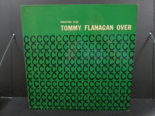 TOMMY FLANAGAN Overseas LP Original DEEP GROOVE Prestige MONO Fireworks RVG