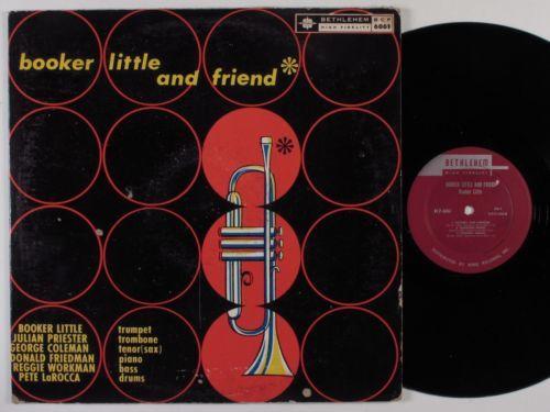 BOOKER LITTLE And Friend BETHLEHEM LP VG