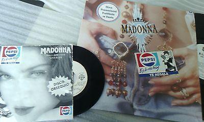 Madonna Like a Player Promo Mexico PEPSI Ultrarare  Item  7 INCH cherish WB