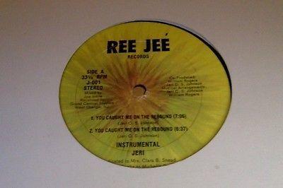 Jeri 12 inch  You Caught Me On the Rebound rare disco boogie funk ORIGINAL
