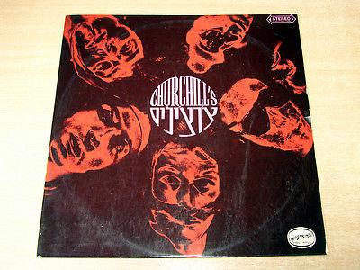 Churchills 1968 RARE Psych Rock Hed Arzi LP Jericho Jones Pokora Churchill s
