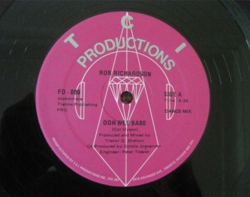 RON RICHARDSON ultra rare boogie funk Canada Ooh Wee Babe EX NM 12  LISTEN