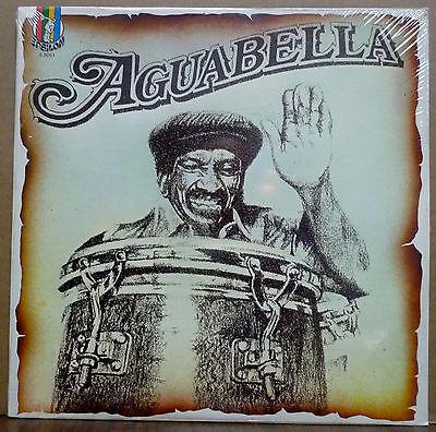 AGUABELLA Hitting Hard   ORIGINAL LP on Epsilon STILL SEALED   Latin Funk