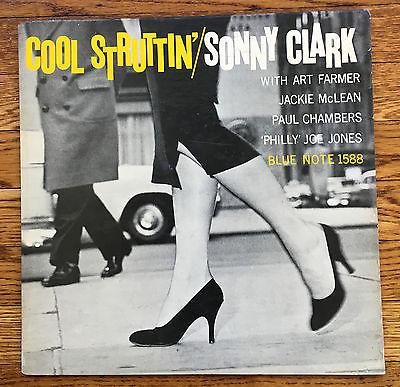 SONNY CLARK Cool Struttin  BLUE NOTE LP 1588 RVG EAR P 47 WEST DG NM