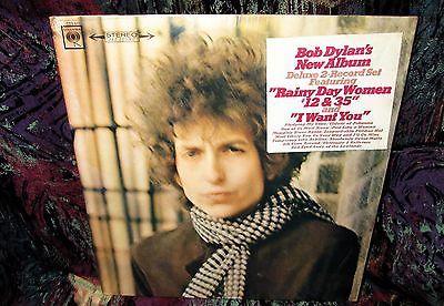 SEALED   STICKER   1967 ORIG  2LP BOB DYLAN   BLONDE ON BLONDE  66 Folk psych