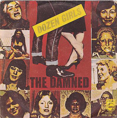 DAMNED Dozen Girls 7  Single PS Bolivia Unique Pressing