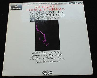BEETHOVEN Szell Cleveland Symphony Orchestra COLUMBIA SAX 2512 MINT  LP