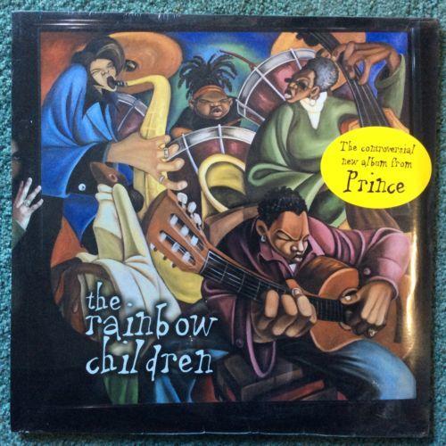 PRINCE rare 12  THE RAINBOW CHILDREN LP 2 record set sealed w  Mint Vinyl  O