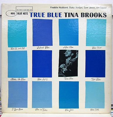 TINA BROOKS True Blue LP beautiful original BLUE NOTE 4041 Nicest one this year