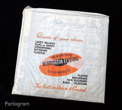 The Beatles   A Hard Day s Night    MINT  UK 1964 1st MONO Press Parlophone LP