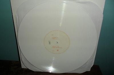 Prince Black Album  White Vinyl Promo LP  67 of 300 Very Rare Item