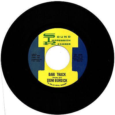 Rare Northern Soul   Doni Burdick   Bari Track   7 Inch