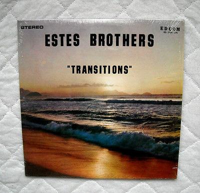 Estes Brothers  Transitions  lp SO RARE 1971 ORIG  PRESS PSYCH BLUES ROCK EX  C