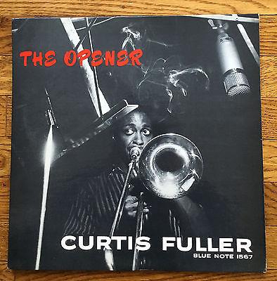 CURTIS FULLER  THE OPENER  MONO BLUE NOTE LP 1567 HANK MOBLEY DG Ear P