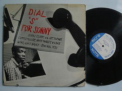 SONNY CLARK Dial  S  For  LP Hank Mobley BLUE NOTE 1570 W 63rd DG RVG NO R ORIG