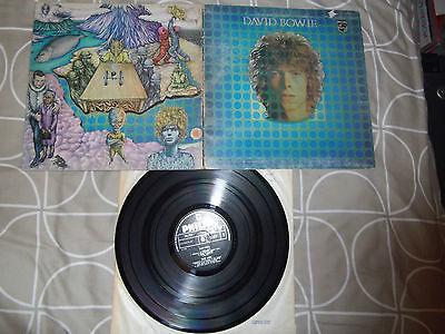 DAVID BOWIE DAVID BOWIE SPACE ODDITY 1969 1ST PRESS PHILIPS LP MEGA RARE