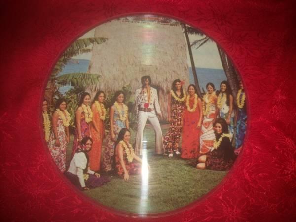 b VINTAGE RCA RARE ELVIS RECORD  ELVIS PRESLEY  ALBUM  ELVIS VINYL LP PROTOTYPE