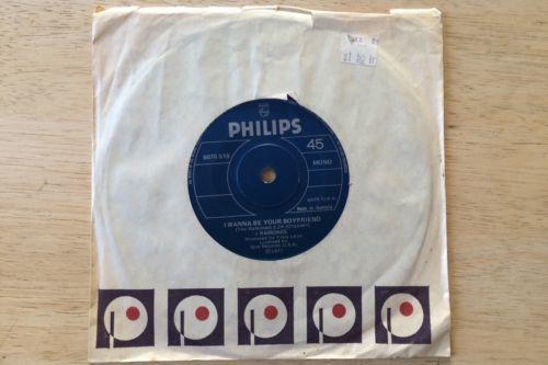Ramones   I Wanna Be Your Boyfriend Original 1977 Australian Philips 7  Mono