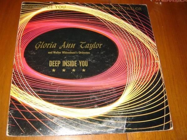 Gloria Ann Taylor   Deep Inside You 12  EP Selector Sound orig RARE private soul