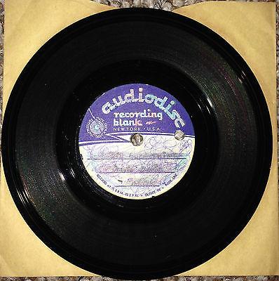 David Bowie I Dig Everything 7  Original 1966 1 Sided Audiodisc acetate
