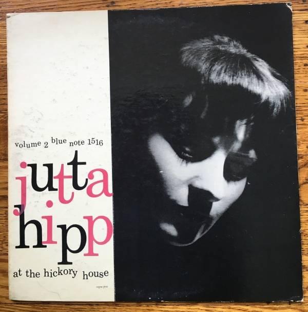 JUTTA HIPP AT THE HICKORY HOUSE 2 BLUE NOTE 1516 LEX DG FLAT EAR P LP