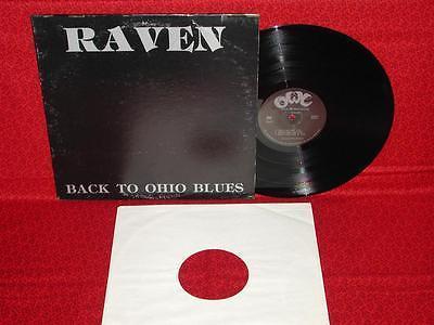 RAVEN   Back To Ohio Blues   original private press psych lp