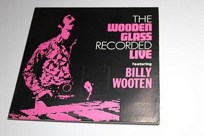 1972 PRIVATE INDIANA FUNK JAZZ BILLY WOOTEN  THE WOOTEN GLASS   LP INTERIM VG