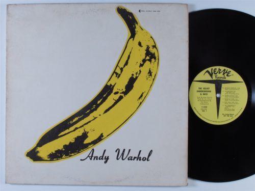 VELVET UNDERGROUND   NICO VERVE V 5008 LP warhol NM mono promo w  banana