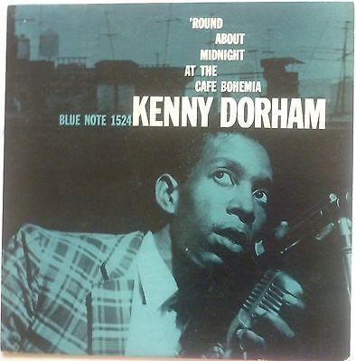 KENNY DORHAM Cafe Bohemia LP monterose BLUE NOTE 1524 DG LEXINGTON Flat RVG NM
